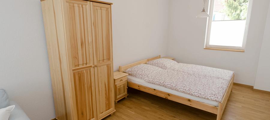 Schlafbereich im Wohnzimmer